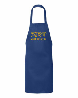 Zeta Beta Tau Large Apron