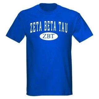 Zeta Beta Tau arch tee