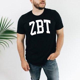 Zeta Beta Tau Arched Greek Letter T-Shirt