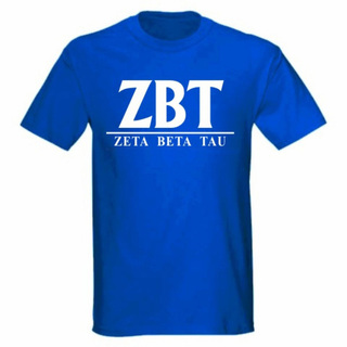 Zeta Beta Tau bar tee