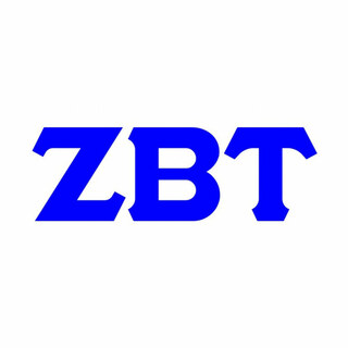 Zeta Beta Tau Big Greek Letter Window Sticker Decal