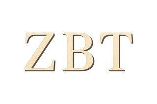 Zeta Beta Tau Big Wooden Greek Letters