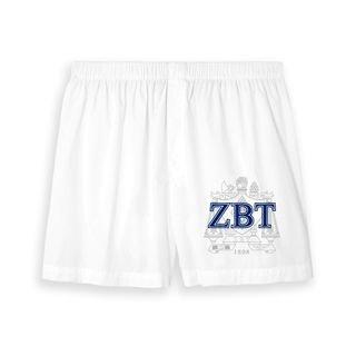 Zeta Beta Tau Boxer Shorts