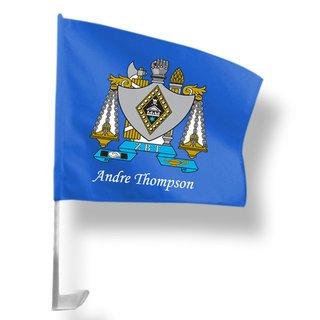 Zeta Beta Tau Car Flag