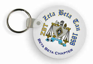 Zeta Beta Tau Color Keychains