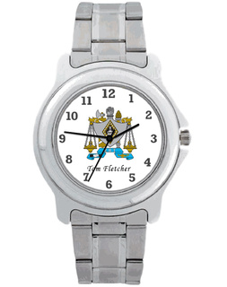 Zeta Beta Tau Commander Watch