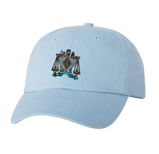 DISCOUNT-Zeta Beta Tau Crest - Shield Hat