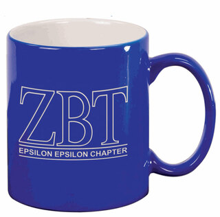 Zeta Beta Tau Custom Ceramic Coffee Mug