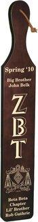 Zeta Beta Tau Deluxe Paddle