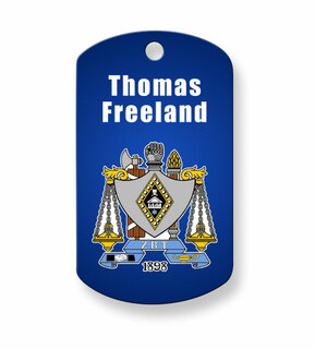 Zeta Beta Tau Dog Tags