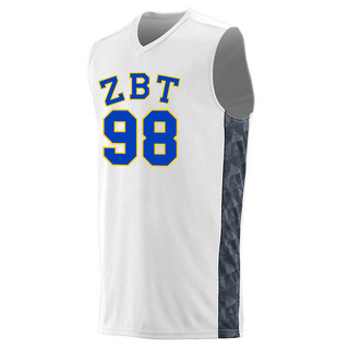 Zeta Beta Tau Fast Break Game Basketball Jersey