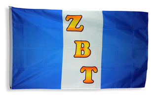 Zeta Beta Tau Giant 3 x 5 Flag