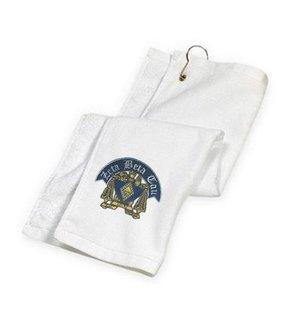 Zeta Beta Tau Golf Towel