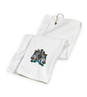 DISCOUNT-Zeta Beta Tau Golf Towel