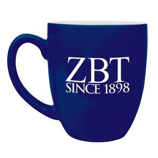Zeta Beta Tau Greek Bistro Mug