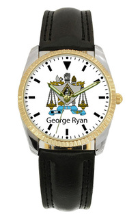 Zeta Beta Tau Greek Classic Wristwatch