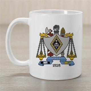 Zeta Beta Tau Greek Crest Coffee Mug