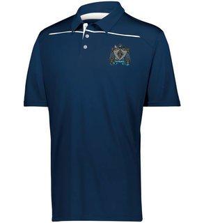 Zeta Beta Tau Greek Crest Emblem Defer Polo