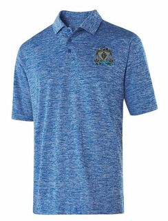 Zeta Beta Tau Greek Crest Emblem Electrify Polo
