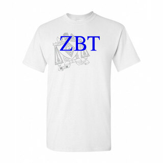Zeta Beta Tau Greek Crest - Shield T-Shirt