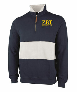 Zeta Beta Tau Greek Letter Quad Pullover
