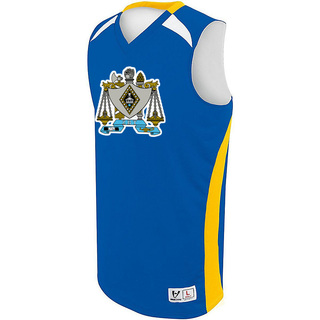 Zeta Beta Tau High Five Campus Basketball Jersey