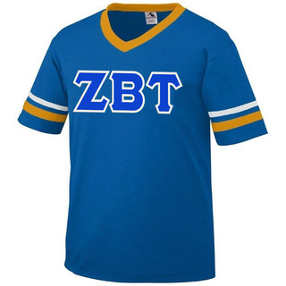 DISCOUNT-Zeta Beta Tau Jersey With Custom Sleeves