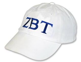 Zeta Beta Tau Letter Hat