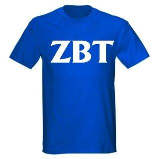 Zeta Beta Tau letter tee