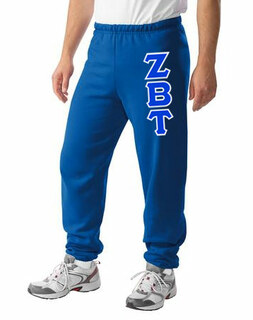 Zeta Beta Tau Lettered Sweatpants