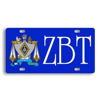 Zeta Beta Tau License Cover