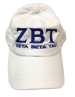 Zeta Beta Tau World Famous Line Hat