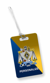 Zeta Beta Tau Luggage Tag