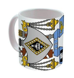 Zeta Beta Tau Mega Crest - Shield Coffee Mug