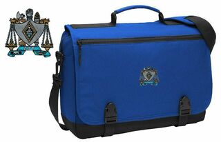 DISCOUNT-Zeta Beta Tau Messenger Briefcase