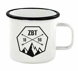 Zeta Beta Tau Metal Camping Mug