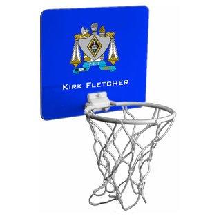 Zeta Beta Tau Mini Basketball Hoop