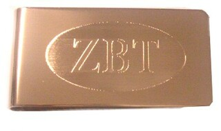 Zeta Beta Tau Money Clip