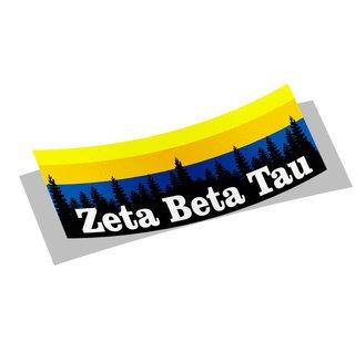 Zeta Beta Tau Mountain Decal Sticker