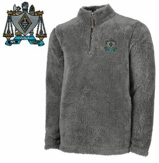 Zeta Beta Tau Newport Fleece Pullover