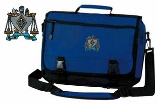 DISCOUNT-Zeta Beta Tau Emblem Briefcase