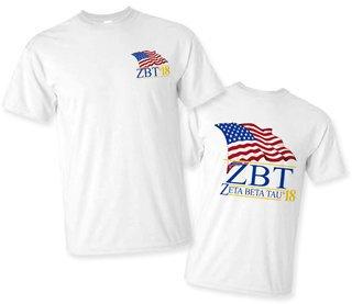 Zeta Beta Tau Patriot Limited Edition Tee- $15!