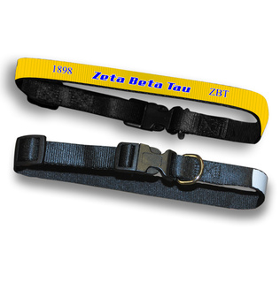 Zeta Beta Tau Pet Collar