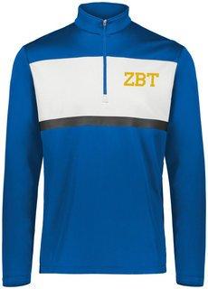 Zeta Beta Tau Prism Bold 1/4 Zip Pullover