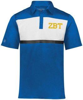Zeta Beta Tau Prism Bold Polo
