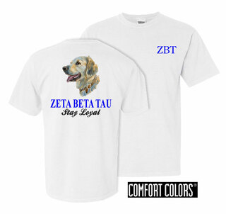 Zeta Beta Tau Stay Loyal Comfort Colors T-Shirt