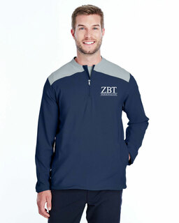 Zeta Beta Tau Under Armour�  Men's Triumph Cage Quarter-Zip Pullover