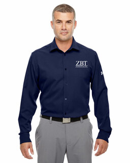 Zeta Beta Tau Under Armour�  Men's Ultimate Fraternity Long Sleeve Buttondown
