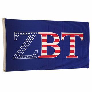 Zeta Beta Tau USA Greek Letter Flag