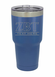 Zeta Beta Tau Vacuum Insulated Tumbler
